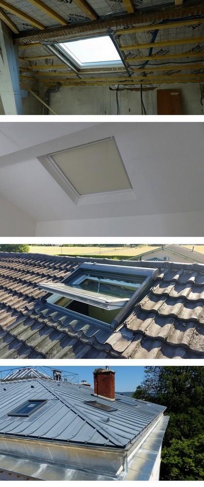 installation fen tre de toit velux pays de gex. Black Bedroom Furniture Sets. Home Design Ideas